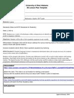 odom teaching   assessment lesson 2