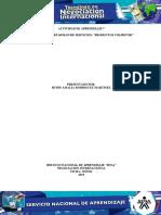 """Evidencia 1 Portafolio de Servicios """"Productos Colfrutik"""""""