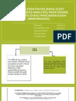 PPT ANALISIS EFEKTIVITAS BIAYA (COST EFFECTIVENESS ANALYSIS).pptx