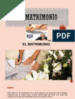 2.El Matrimonio