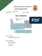 Tabla Periódica exp 4