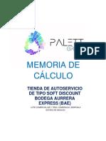 Memoria de Calculo Palett