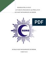 Pedoman Pelayanan Ips Rsmg