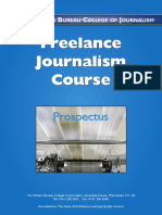 Freelance Journalism Course
