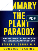 Summary of the Plant Paradox_ the Hidden D - Concise Reading