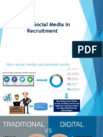 role of social media in recruitment