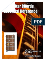 276 Guitar Chords Essential Reference