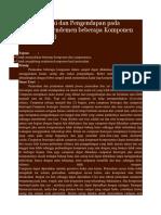 Teknik Filtrasi dan Pengendapan pada Penentuan Rendemen beberapa Komponen dalam Sampel.docx
