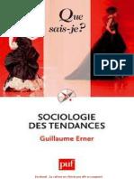 Sociologie des tendances - Guillaume Erner.pdf