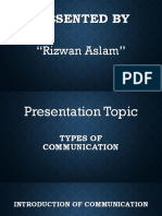 Presented by Rixwan Aslam