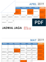 Jadwal Jaga Coass Interna