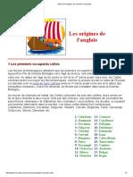 00-Histoire de l'Anglais_ Les Premiers 6 Occupants
