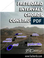 Fretboard Chords Intervals Construction
