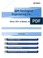 DONGAH GEOLOGICAL Company Brochure