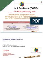SAMA BCM Framework_Continuity and Resilience