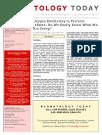 Neonatology Today - Oxygen.pdf