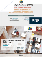 Value of Work Place Services in the Middle East_Brendan J. Seifried_Regus
