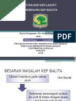 Epidemilogi KEP Balita