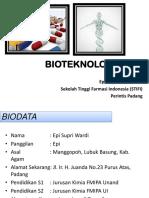 Bioteknologi 1 Ok
