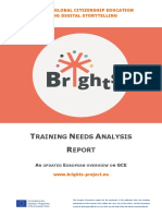 Training Needs Analysis Report - BRIGHTS Deliverable