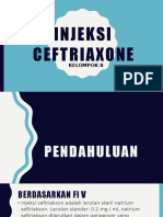 Injeksi Ceftriaxone