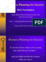 Business Planning for Success
