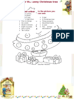 Colour the Funny Christmas Tree 63126