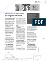 10 Regeln DGE