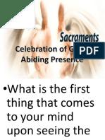 CL Lesson #1 the Sacraments
