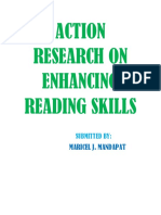 Action Research on Enhancing Reading Skills