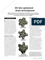 PDC Drill Bits Optimized for Shale Development