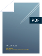 Tgcet User Manual 25