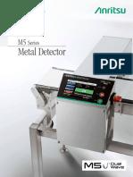 Anritsu M5 Metal Detector Brochure