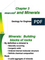 Ch 3-Materials and Minerals