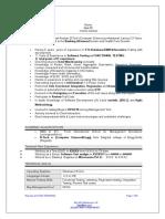 Sample Resume 2