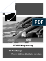 STaSIS MTF Turbo Install Longitudial