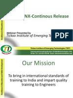 Online Webinar on Latest NX Enhancements