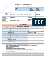 Complete IPCRF Forms