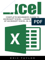 Excel Complete Beginners Guide To Microsoft Excel, Learn The Basics Of Microsoft Excel In Just 7 Days.pdf