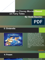 Guido Baechler Disney Movies Based on Fairy Tales