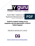 Electric Vehicle OEM Companies Delhi and Kolkata 2018