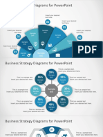 FF0120 01 Free Business Strategy Diagram Powerpoint 16x9