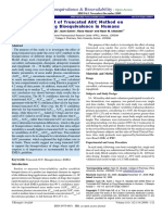 An Overview on Bioequivalence Regulatory Consideration for Generic Drug Products Jbb.1000037