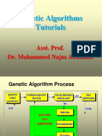 Genetic Algorithms Tutorials