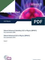GCE Physics TSM Issue 2
