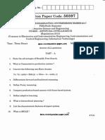 CS6659 Artificial Intelligence Question Paper Nov Dec 2017