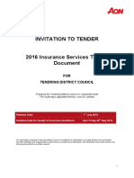 2016 Tendring District Council Tender (Final)
