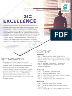 Strategic Excellence