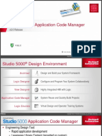 Studio 5000 Application Code Manager Webinar 20170912
