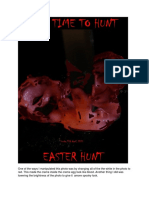Horror Poster Production